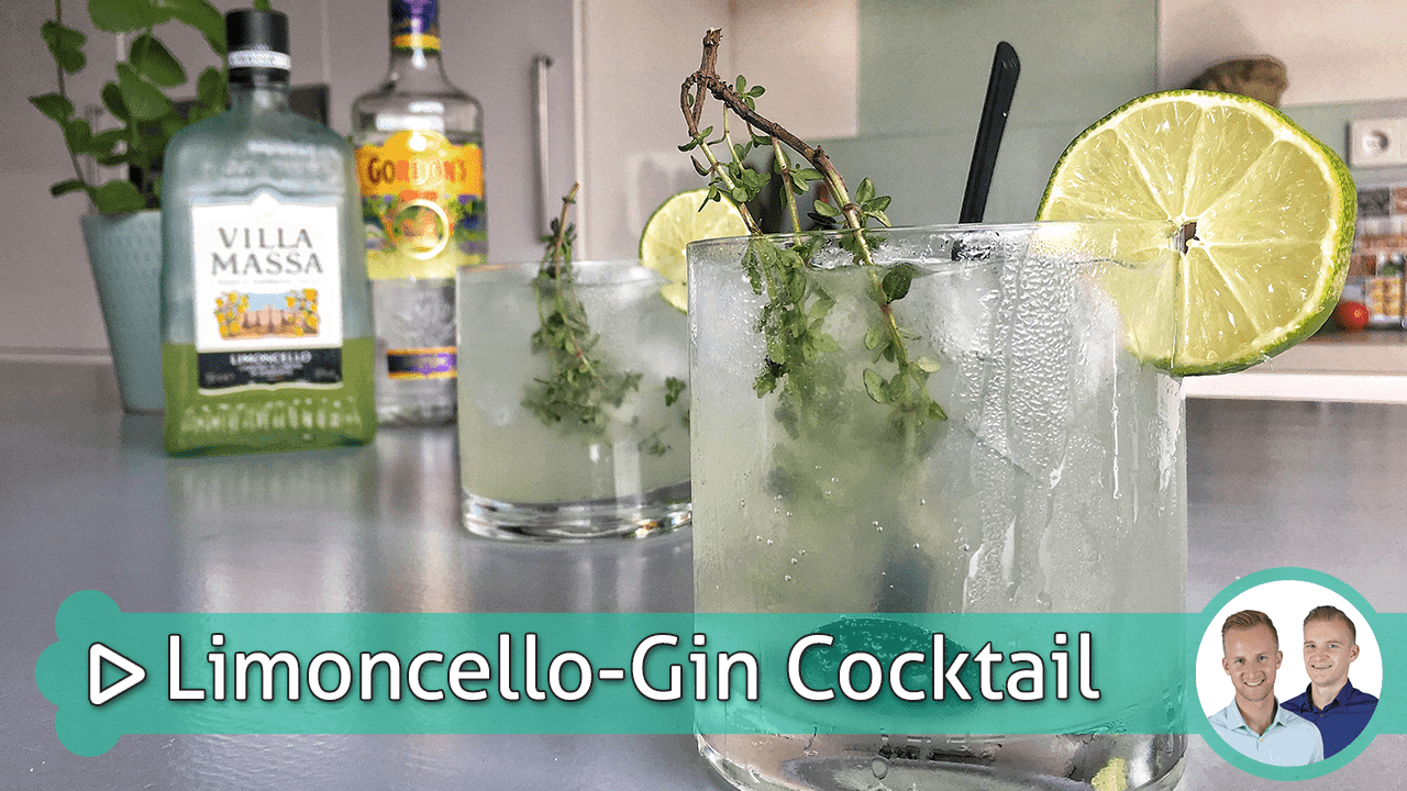 Limoncello-Gin Cocktail