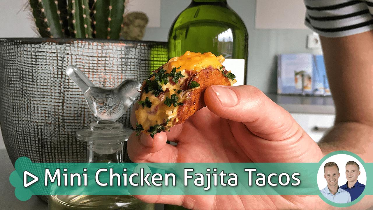 Mini Chicken Fajita Tacos