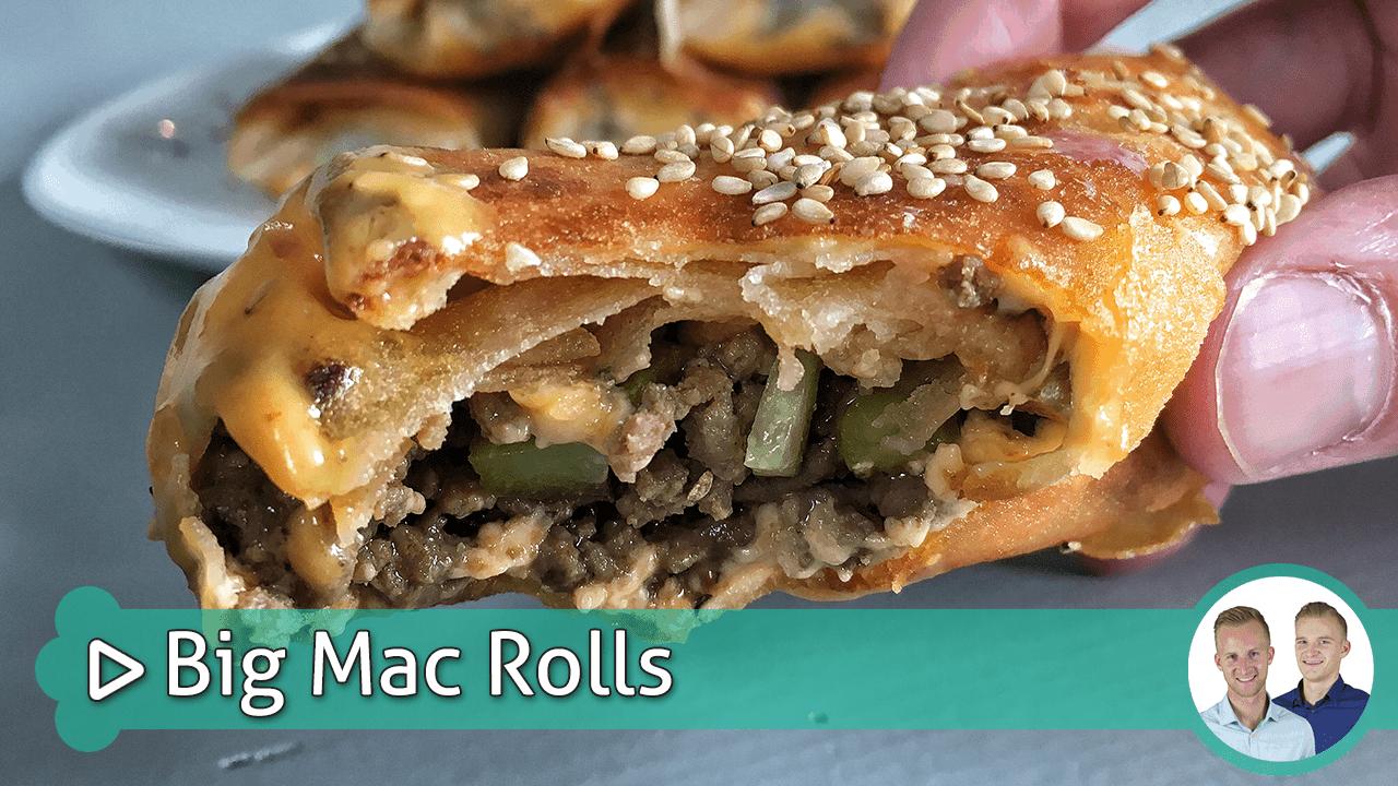 big mac rolls