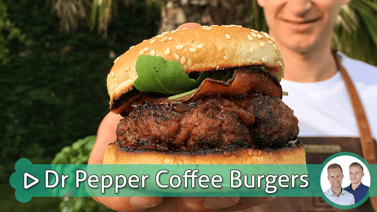 dr pepper coffee burgers