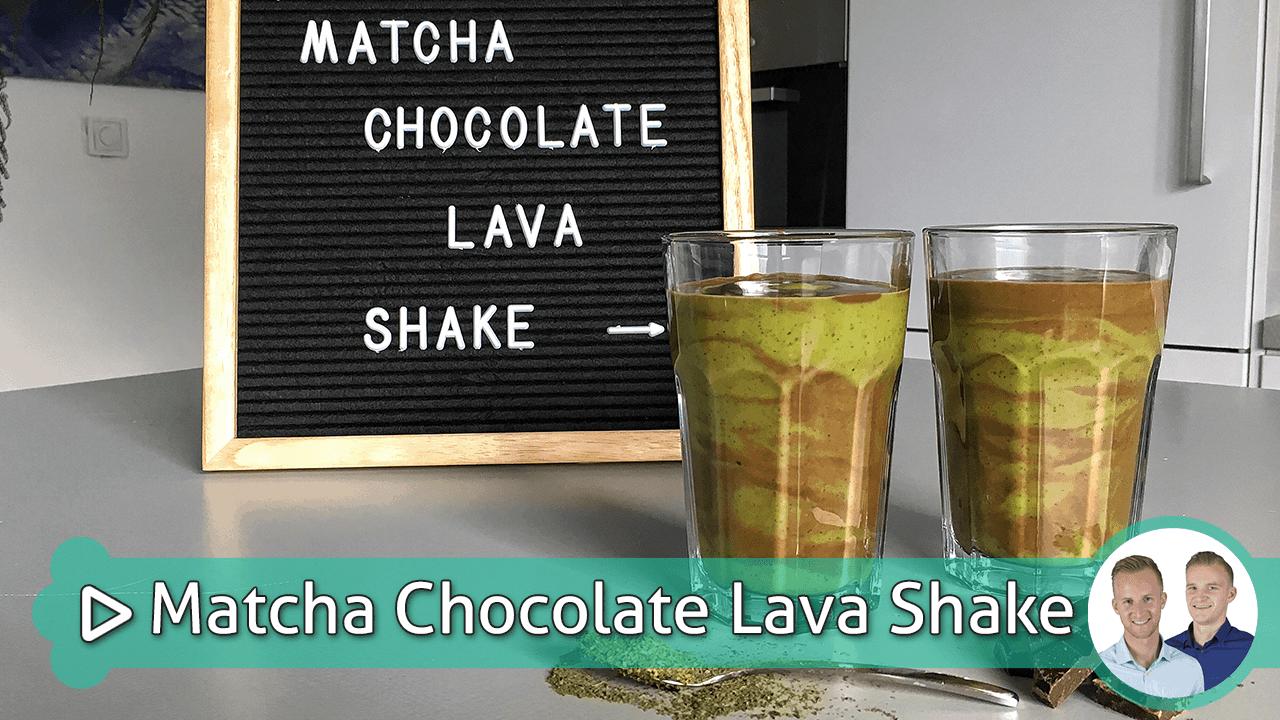 matcha lava shake