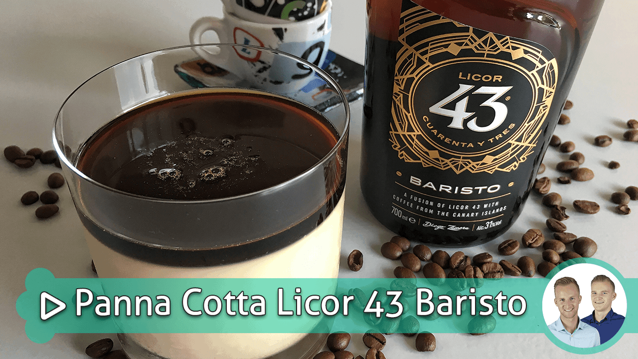 Panna Cotta Licor 43 Baristo