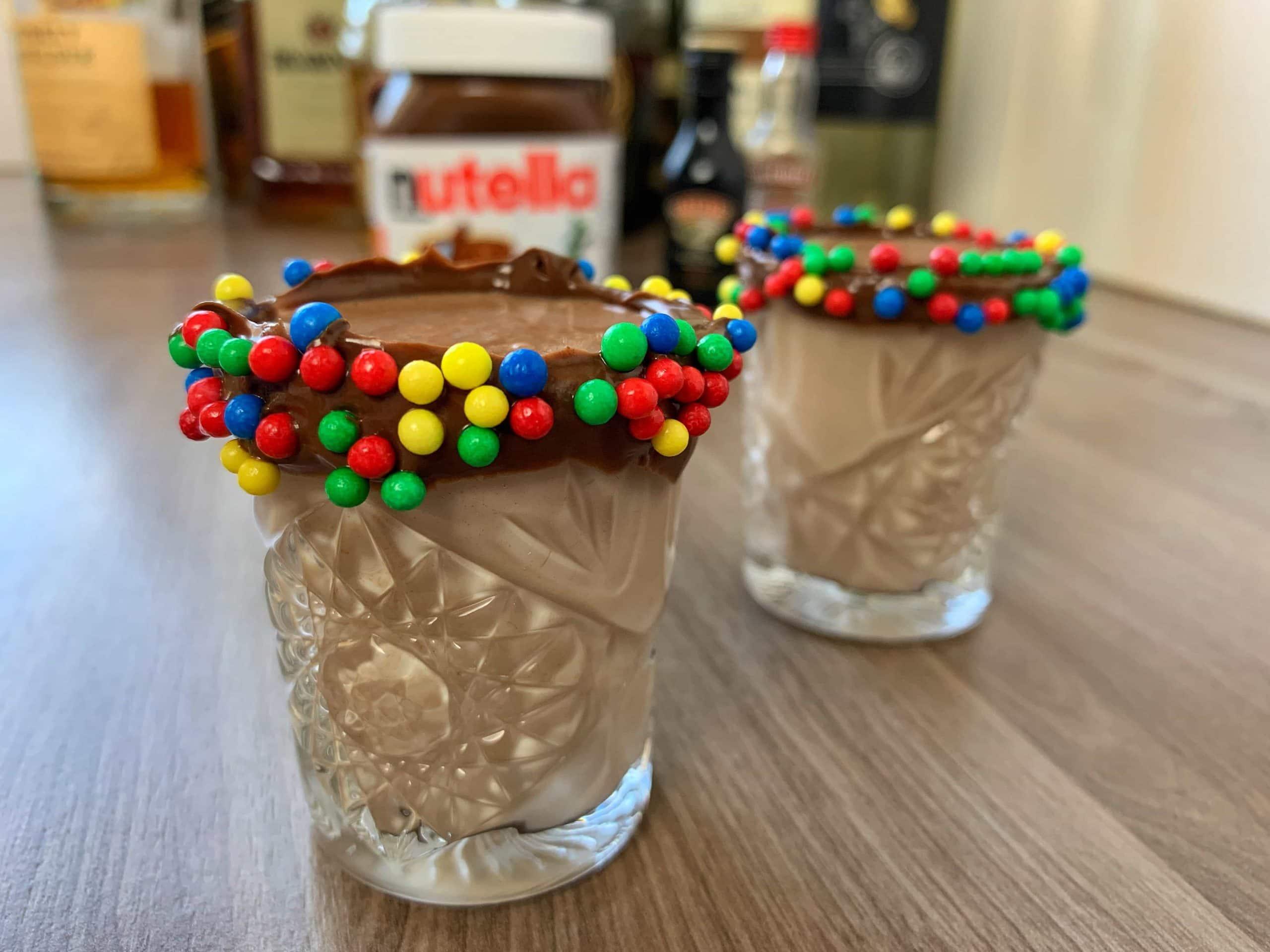 Nutella Shots