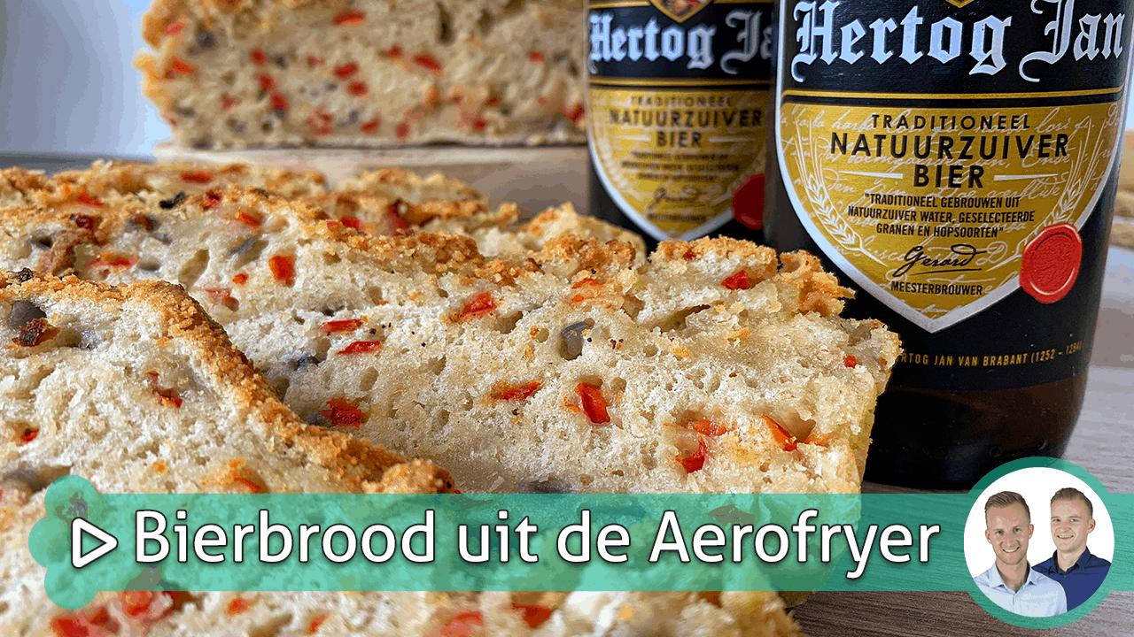 bierbrood uit de aerofryer