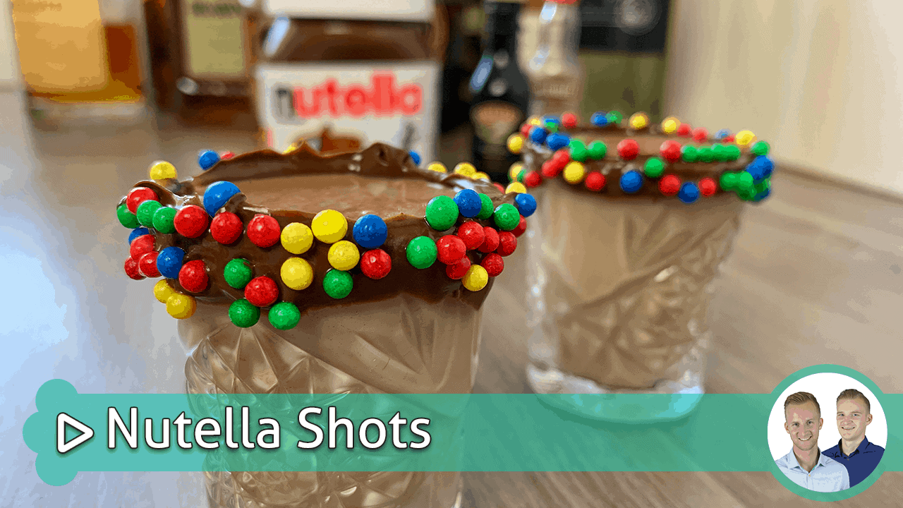 nutella shots