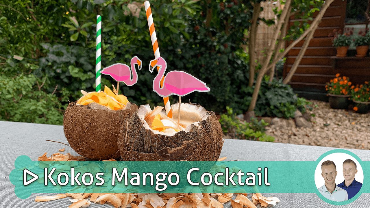 Kokos Mango Cocktail