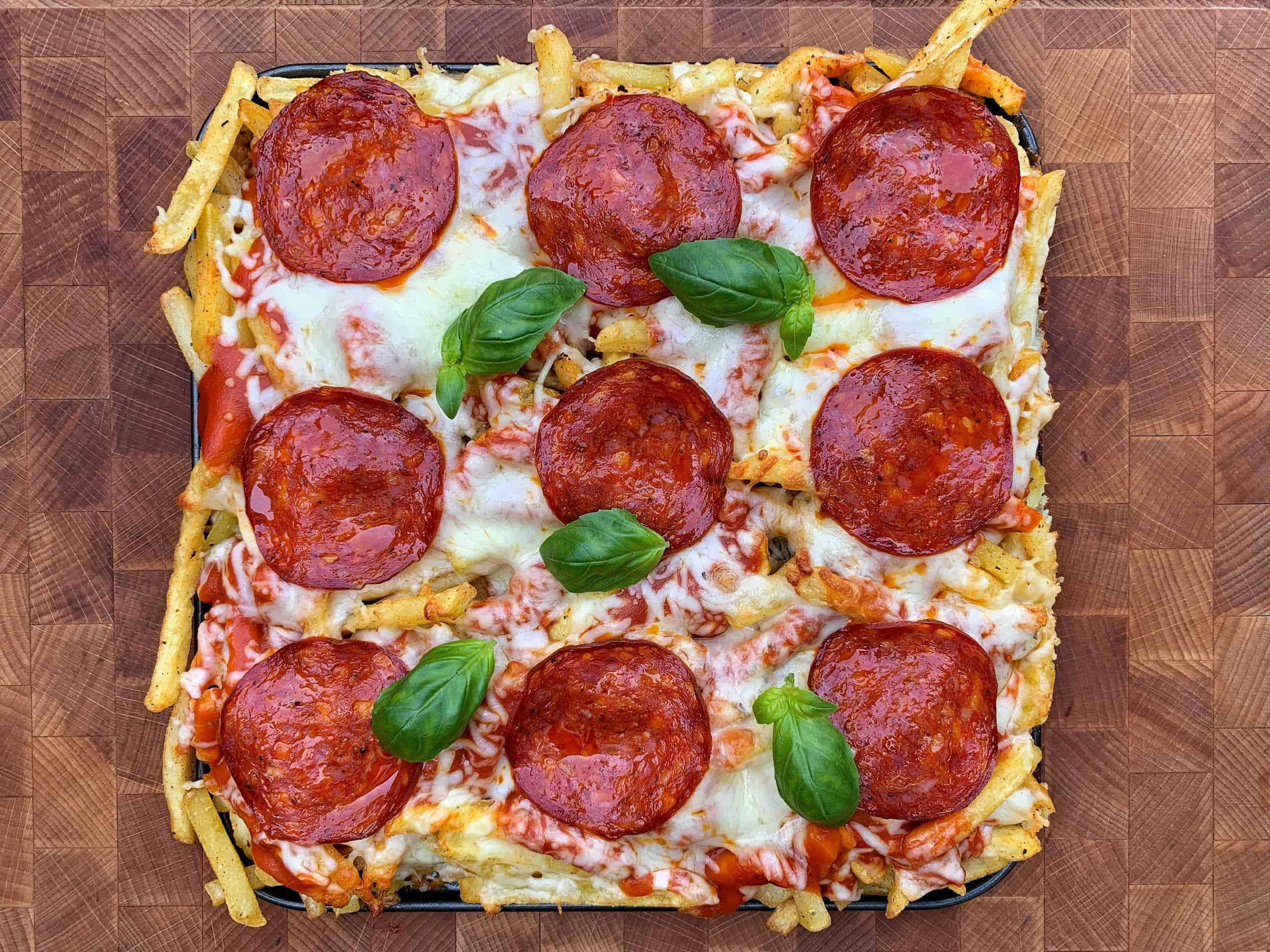 Patatje Pizza