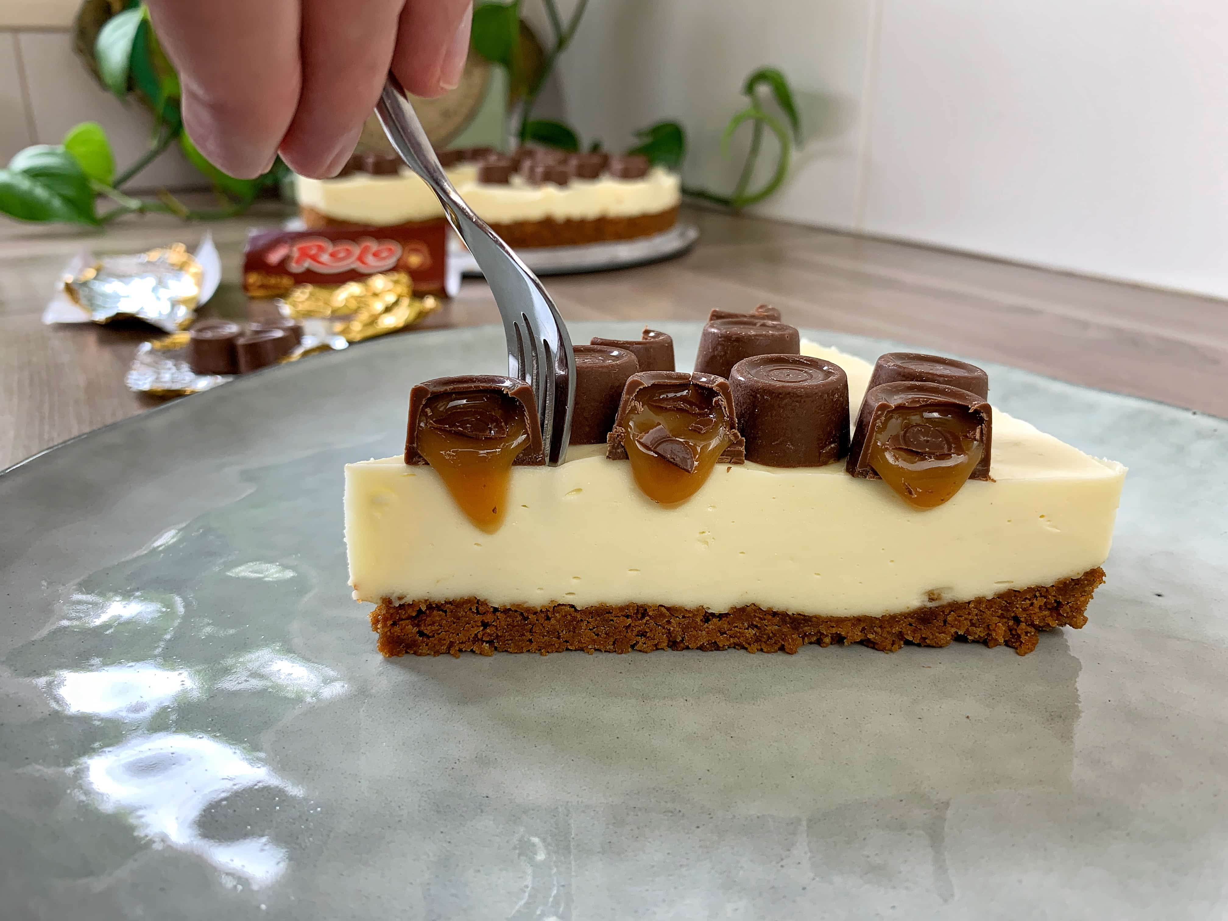 rolo cheesecake