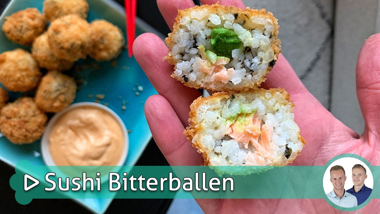 Sushi Bitterballen