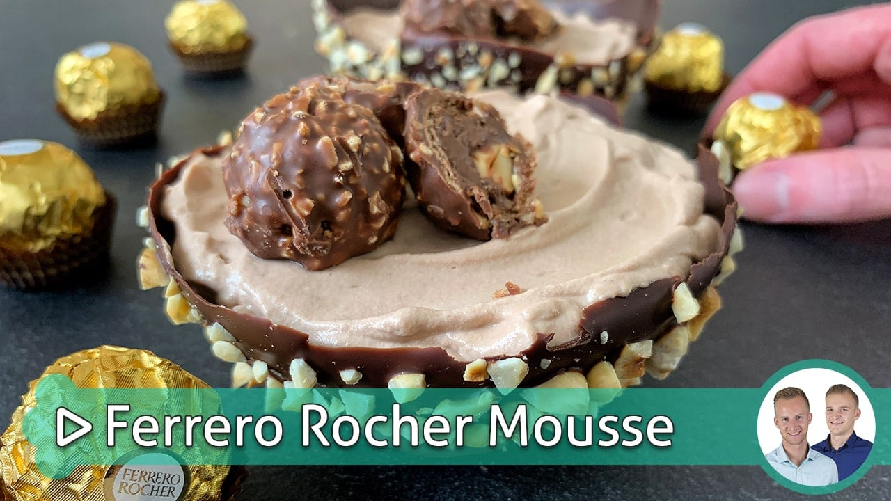 Ferrero Rocher Mousse