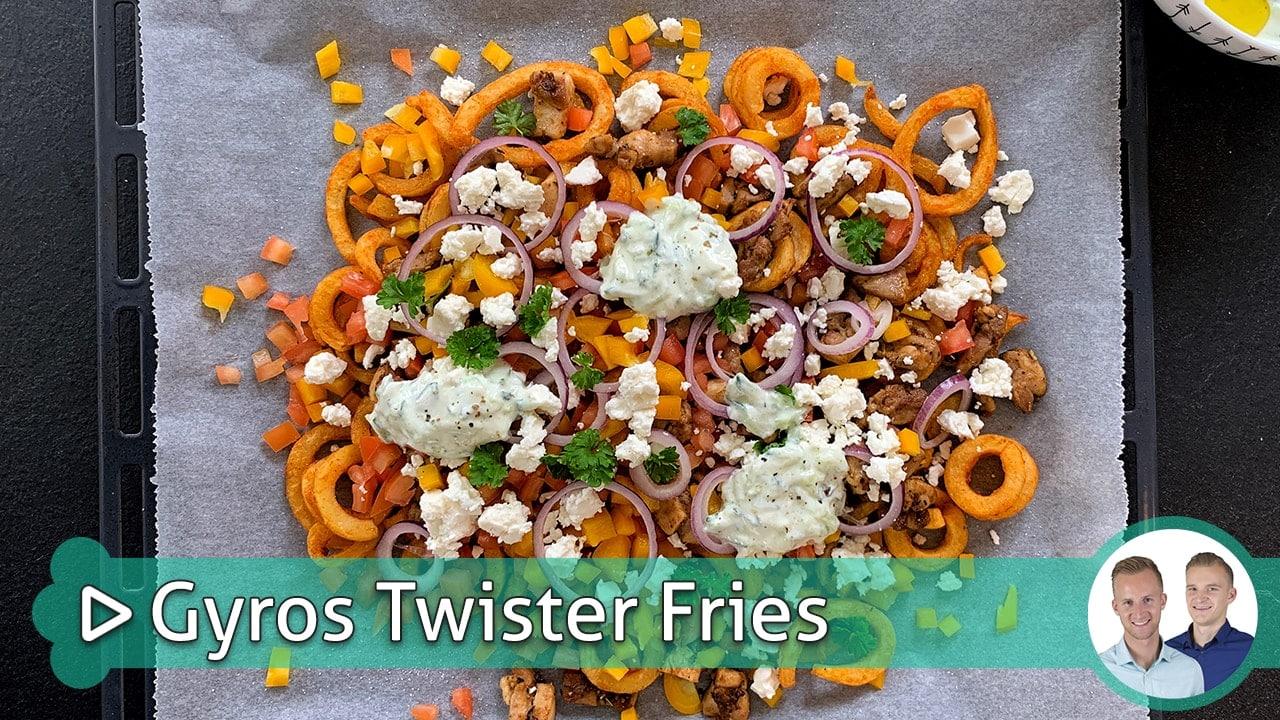 Gyros Twister Fries