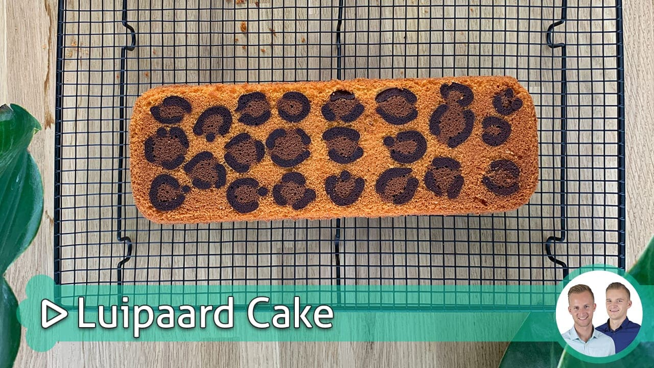 Luipaard Cake
