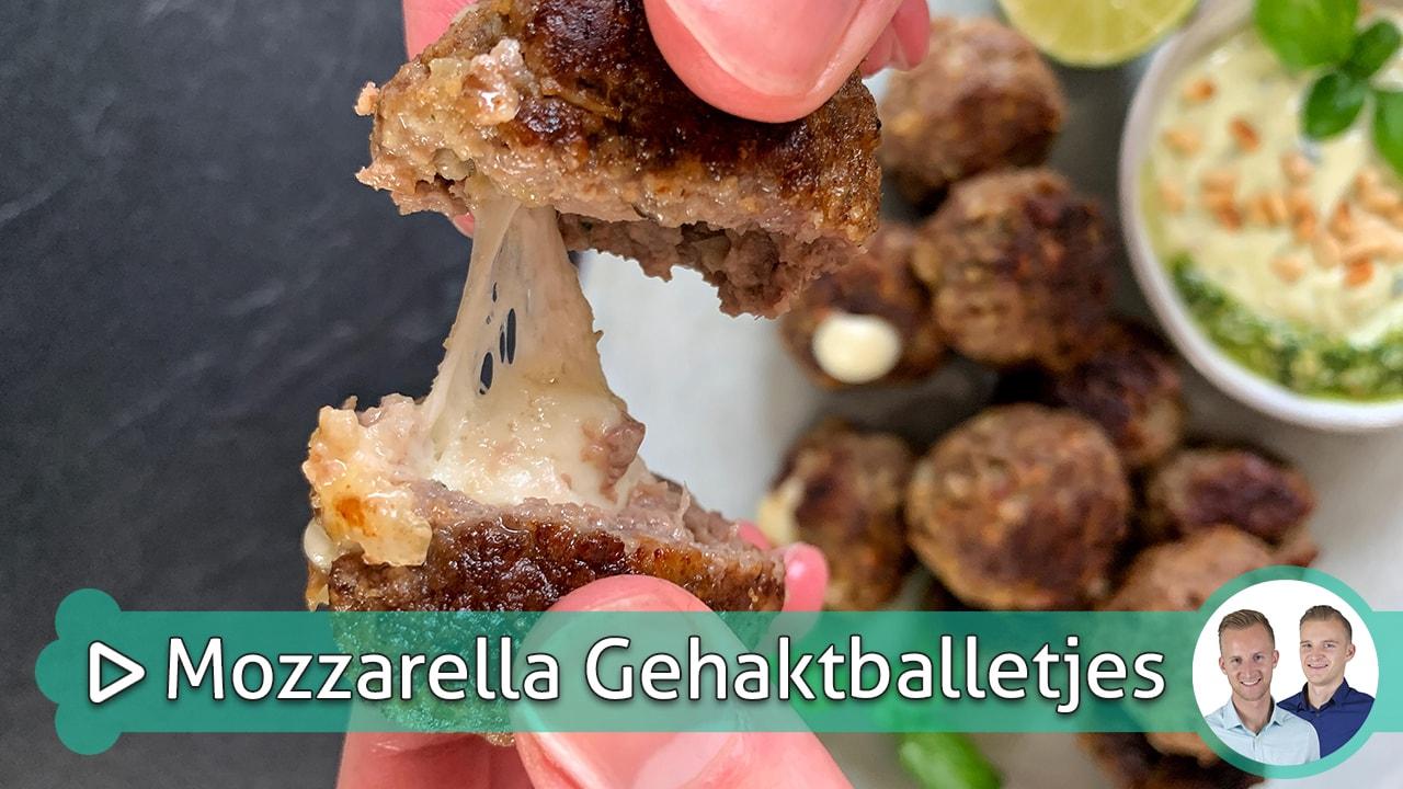 Mozzarella Gehaktballetjes
