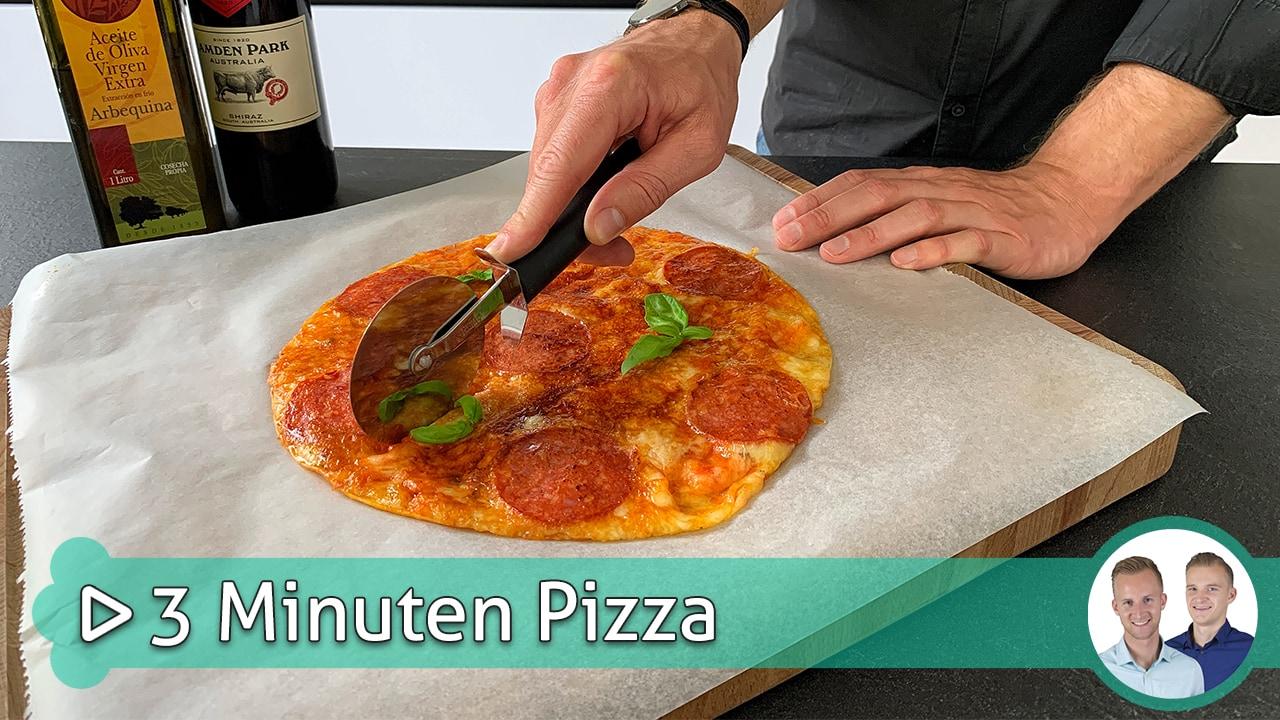 3 Minuten Pizza