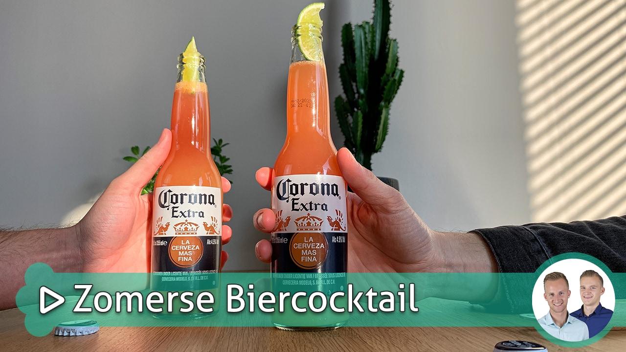Zomerse Biercocktail