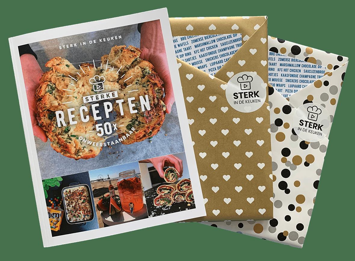 kookboek sterke recepten 50x onweerstaanbaar inpakservice