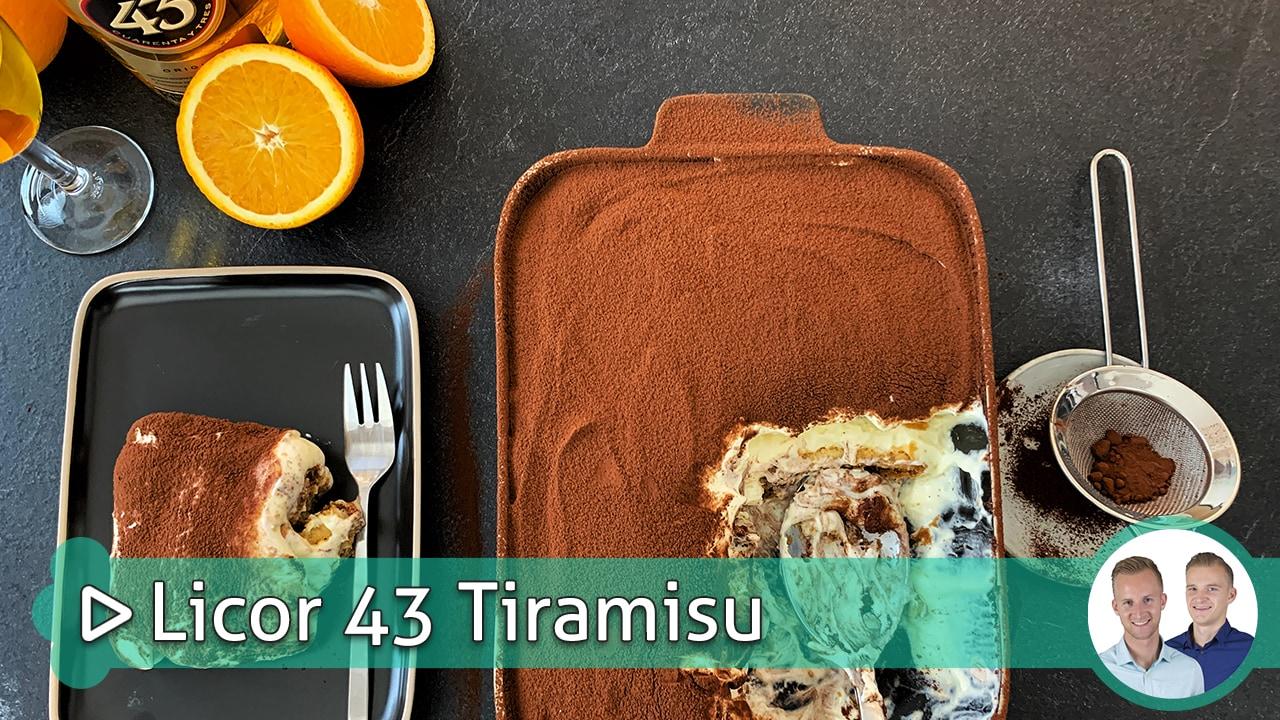 Licor 43 Tiramisu