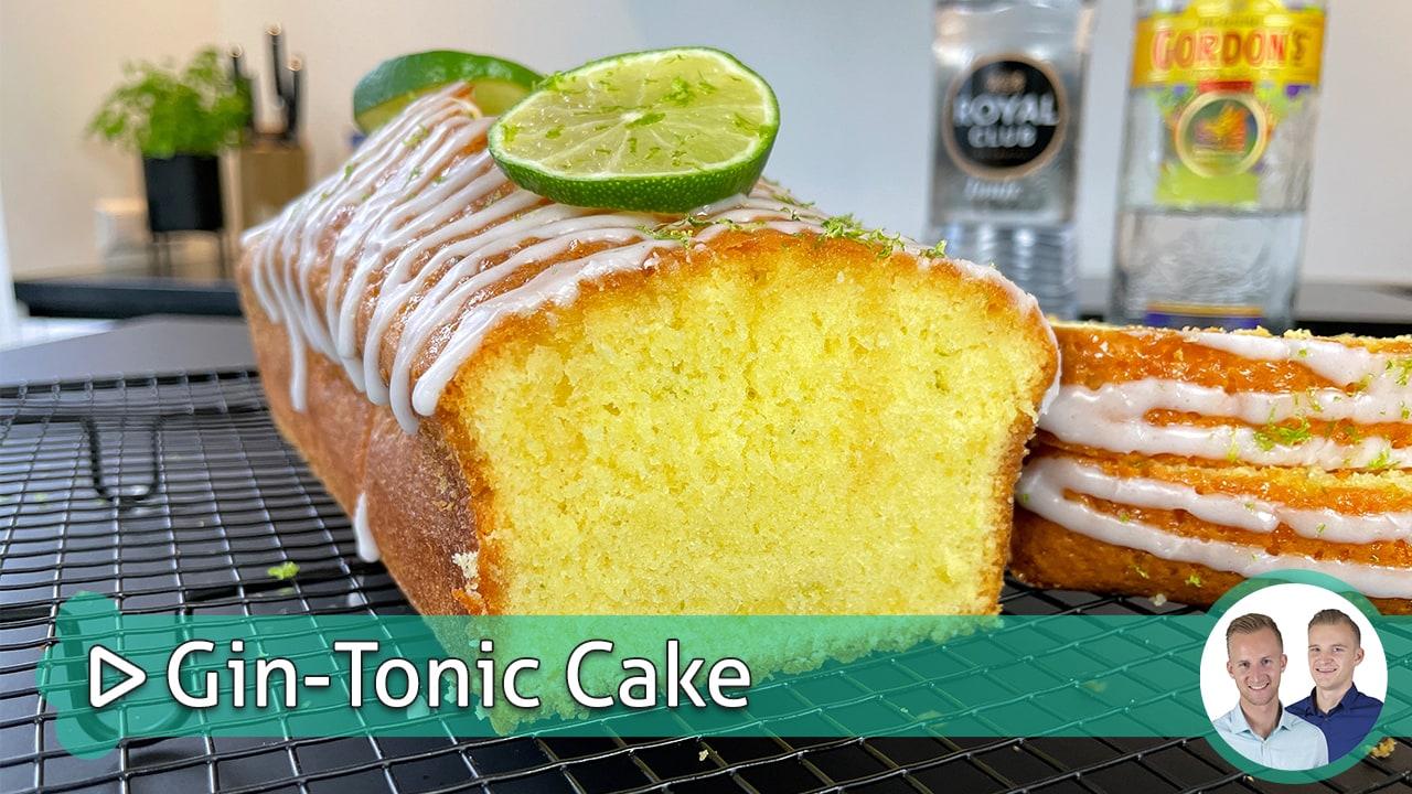 Gin-Tonic Cake