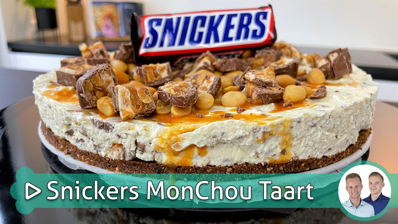 Snickers Monchou Taart