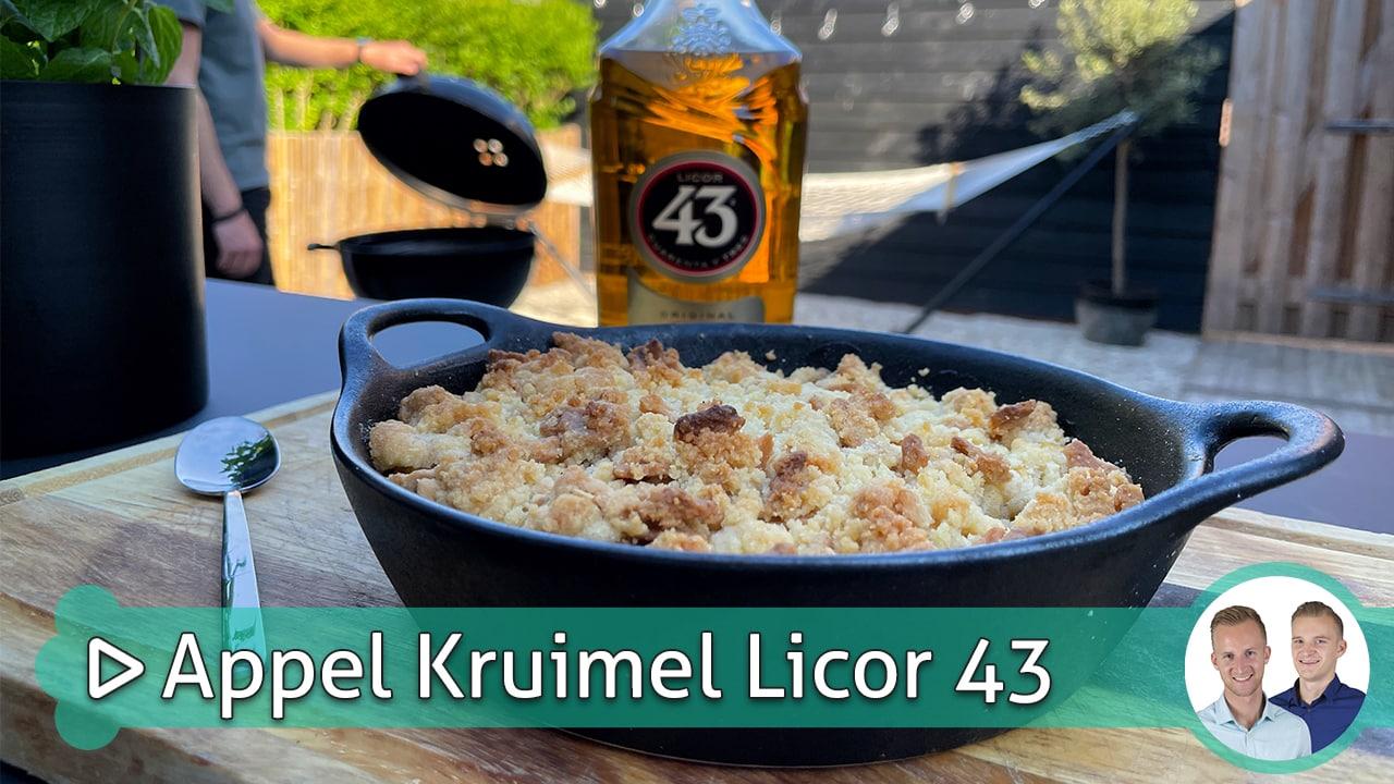 Appel Kruimel Licor 43