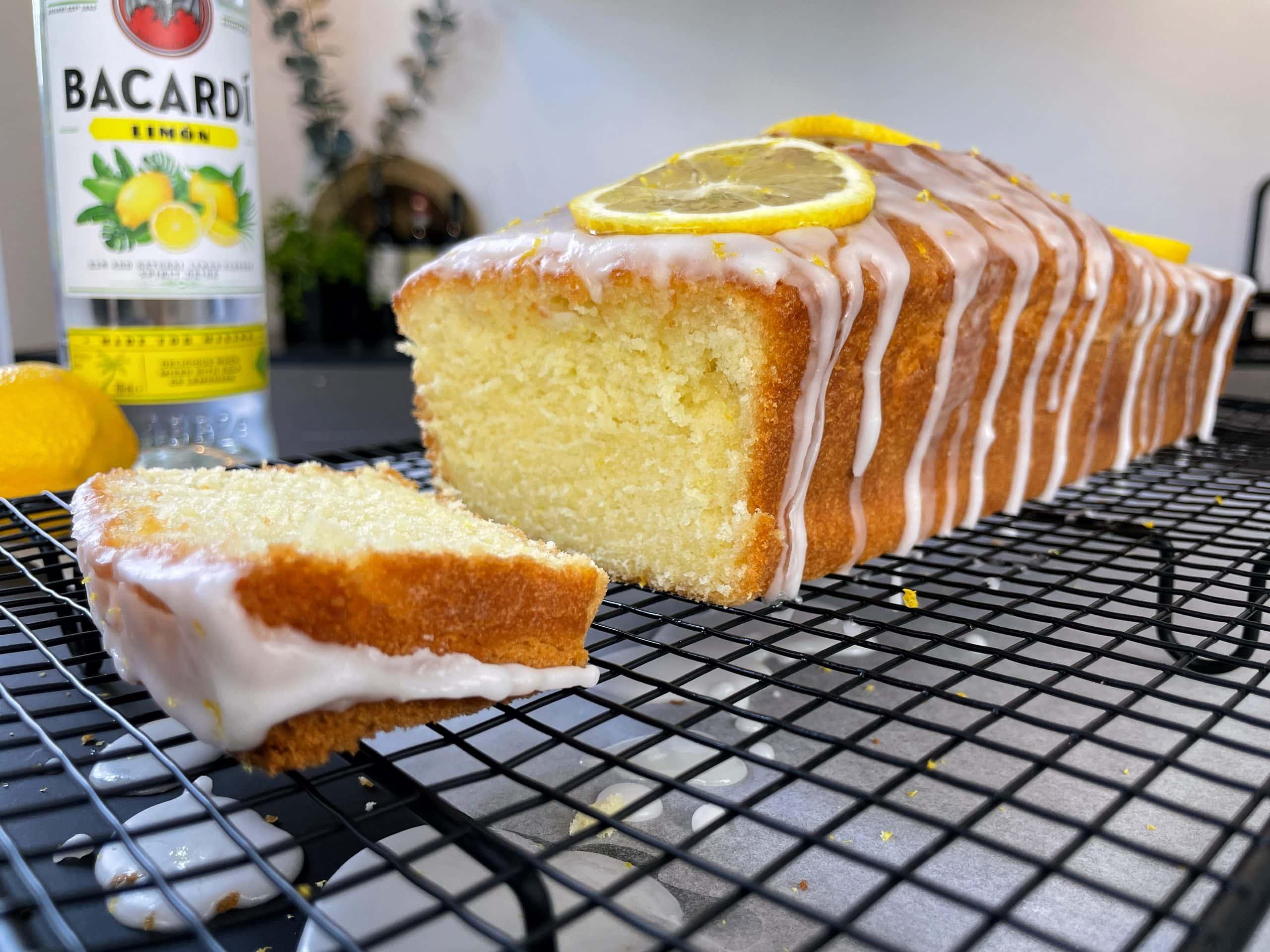 Bacardi Lemon Cake